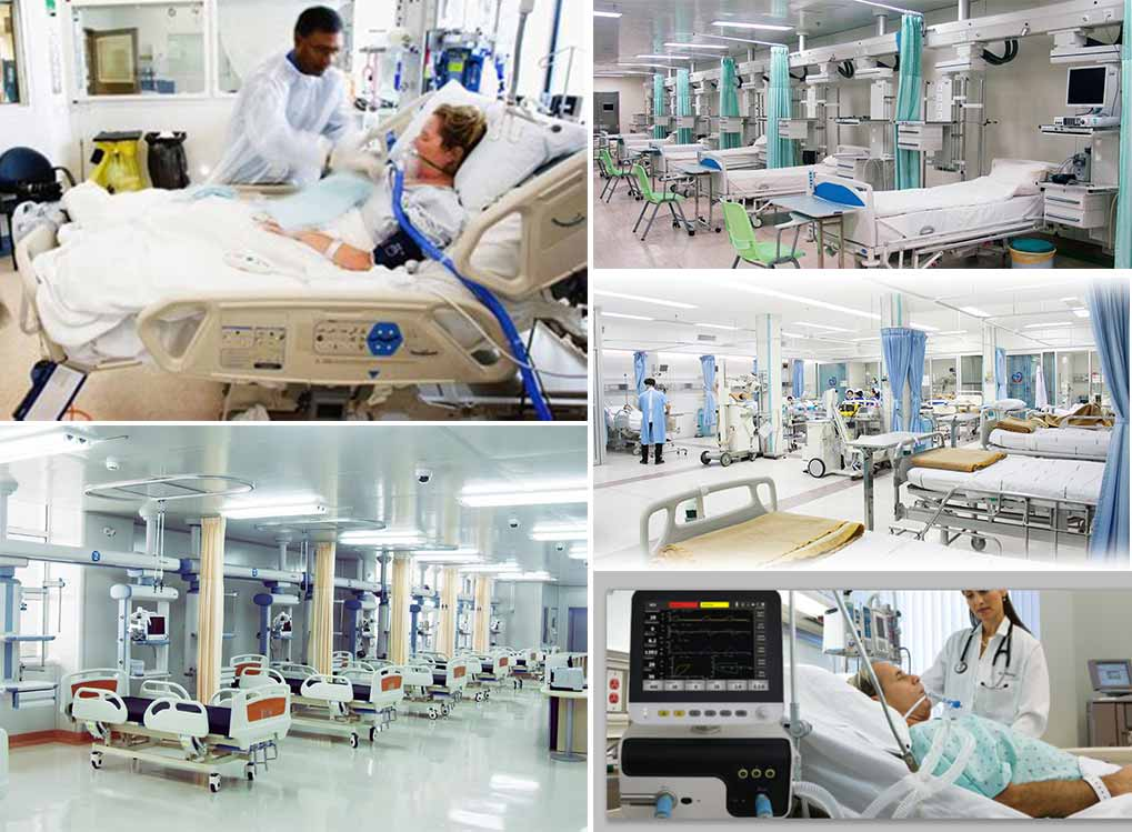 Intensive Care Units-ICU(SICU, MICU, EICU, AICU, RICU, CCU, NICU, BICU)