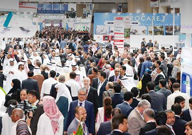 Arab Health 2019 have booked successfully