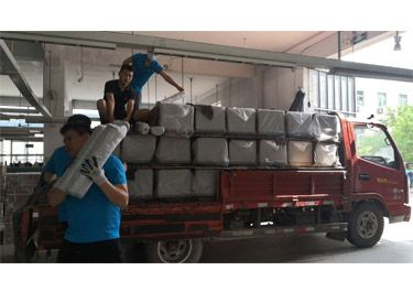 100 Sets Medical Air Compressor Material Arrive Factory Site