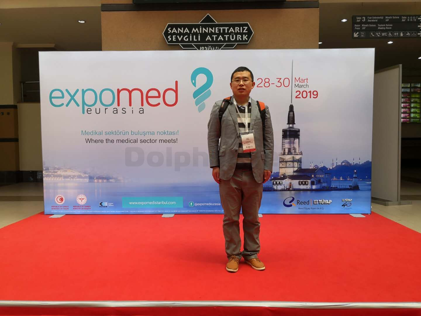 Dolhinmed Are Attending Expomed In Istanbul,Turkey